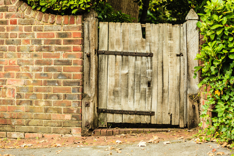 Gate in Backyard Won't OpenClose