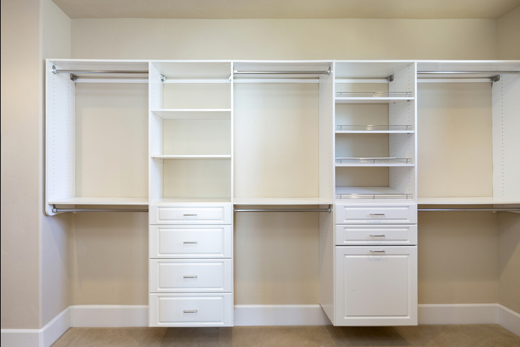 His and Hers Walk-in Closets