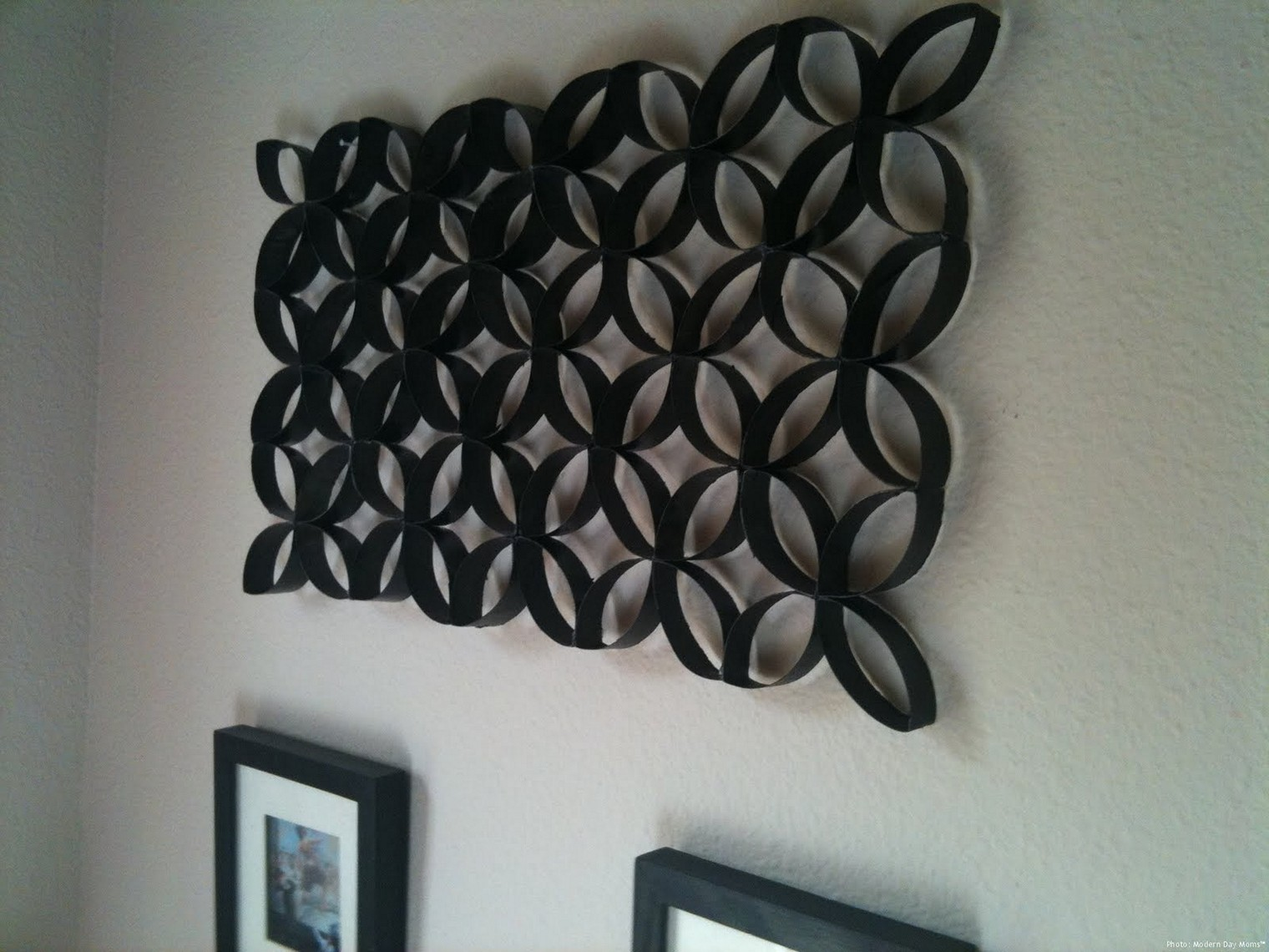 Design toilet paper wall art