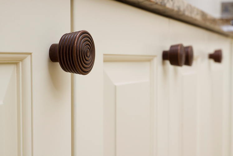 Install new cabinet pulls and handles