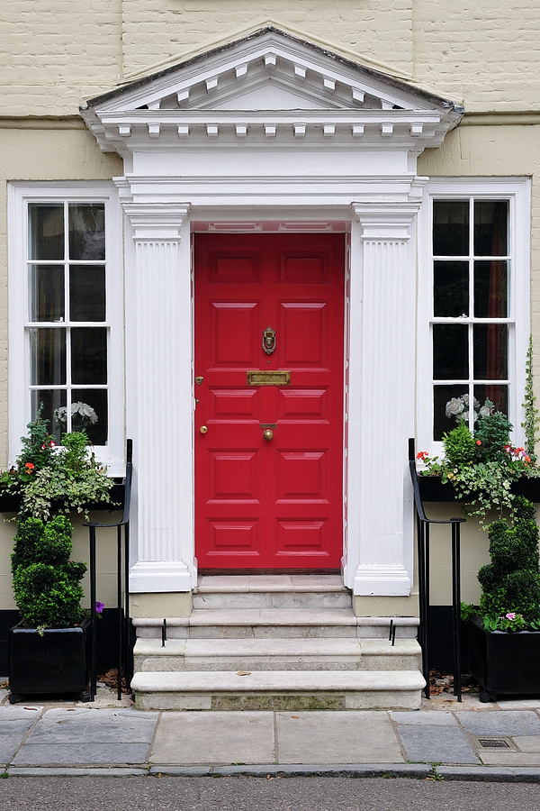 paint or replace your front door
