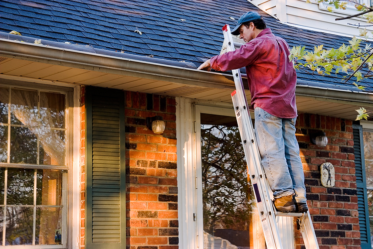 Cleaning gutters is one of the best Fall Maintenance Tips to Avoid Problems this winter