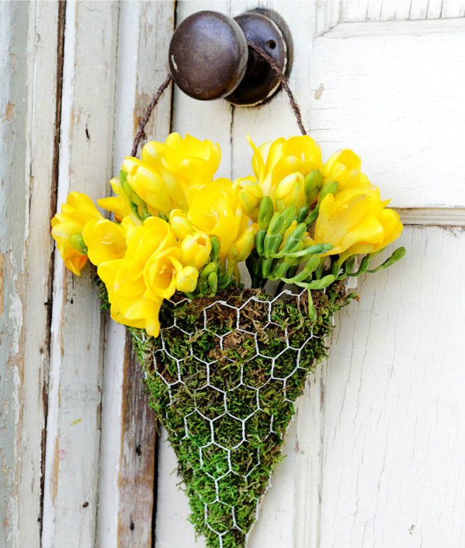 Floral Wall Sconce
