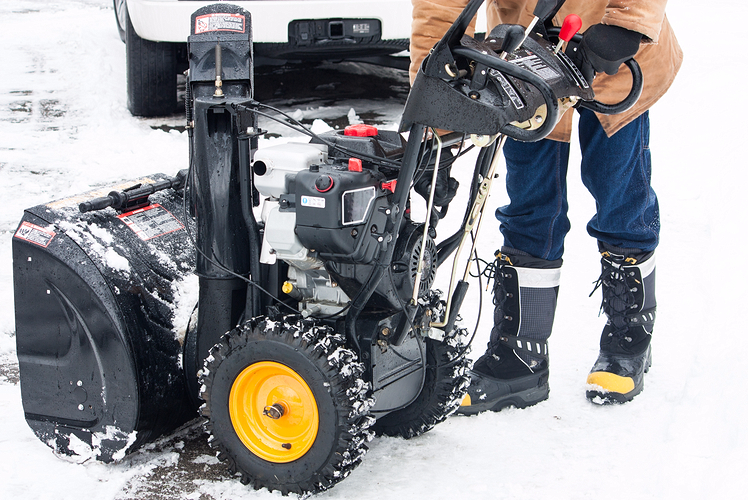snow blower maintenance