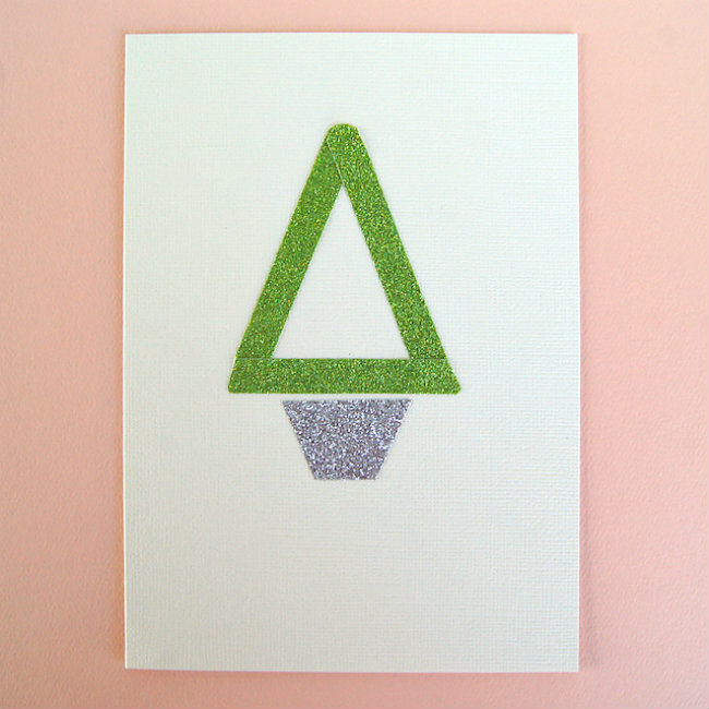 Glitter Cards