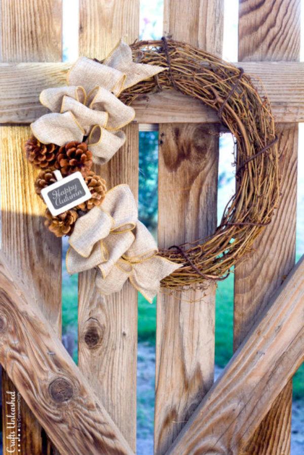 Have a hay wreath