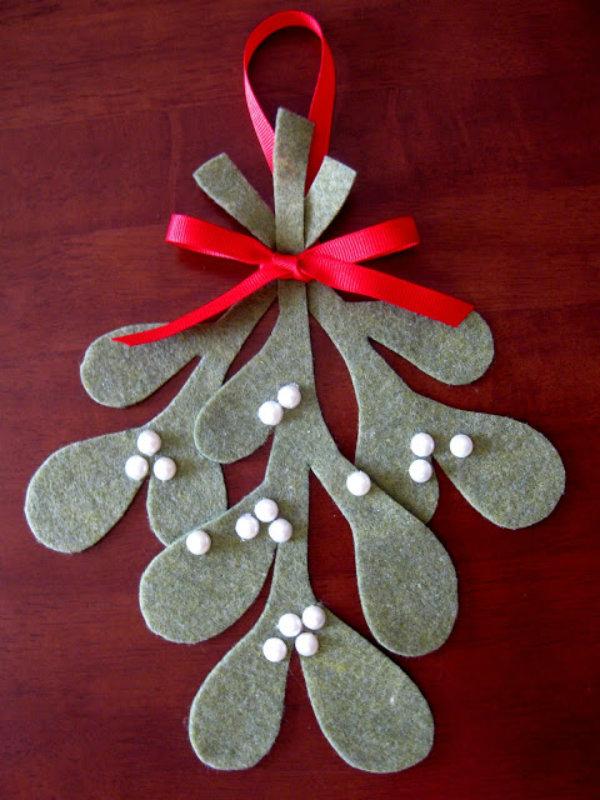 Make some mistletoe