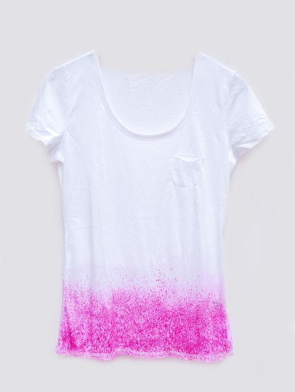 Dip dye t shirt