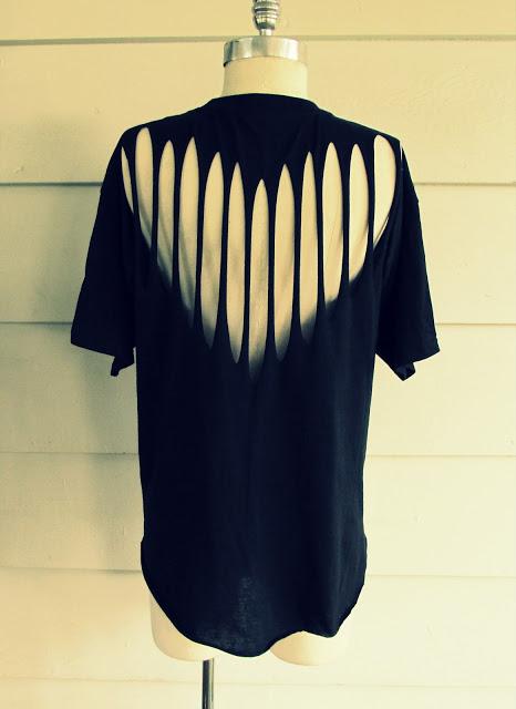 Slashed Tshirt