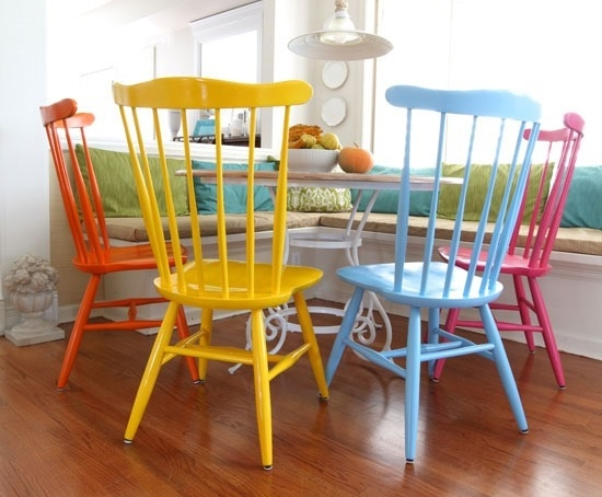 Spray Paint chairs