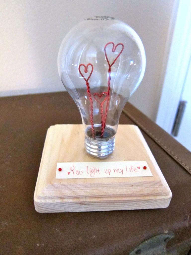 bulb valentine