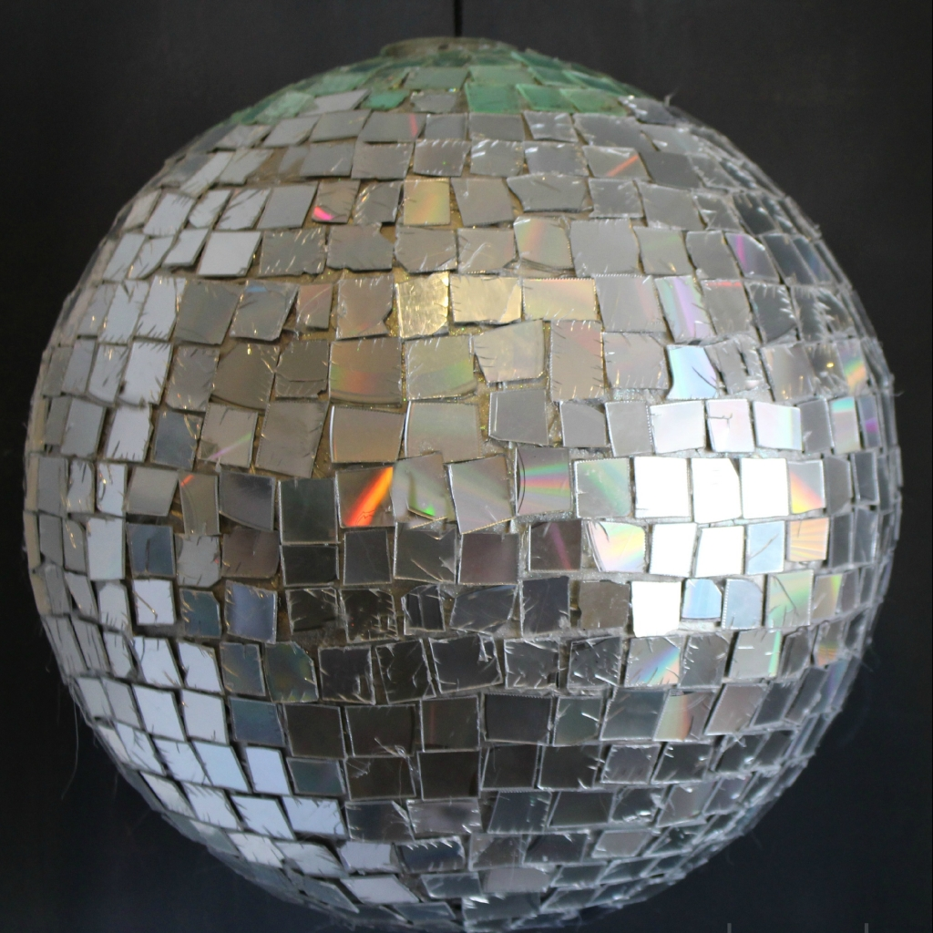 cd disco ball
