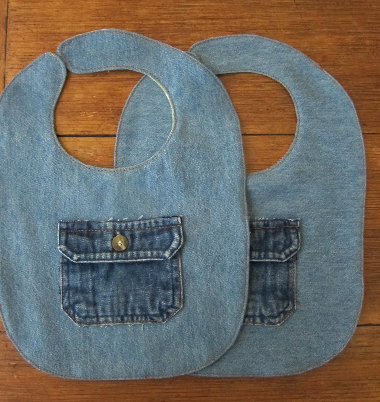 denim bib