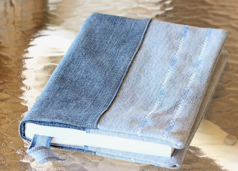 denim book cover