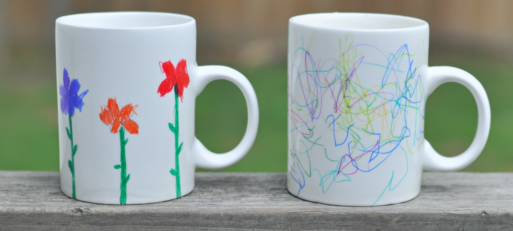kids sharpie mug
