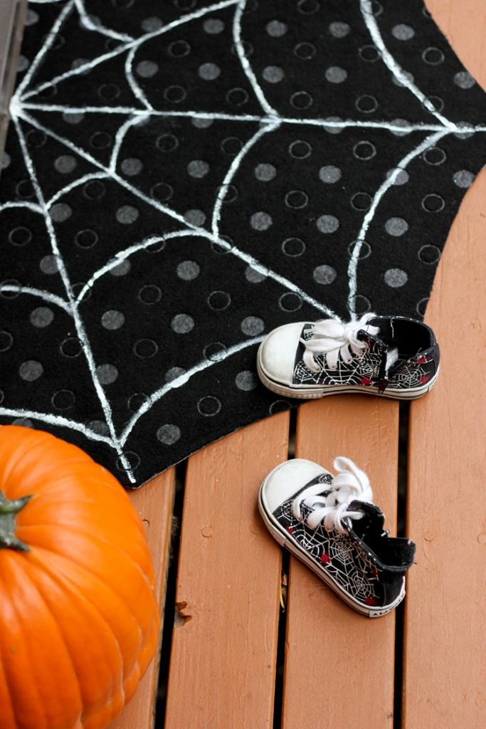 spiderweb doormat