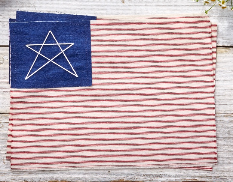 flag placemat
