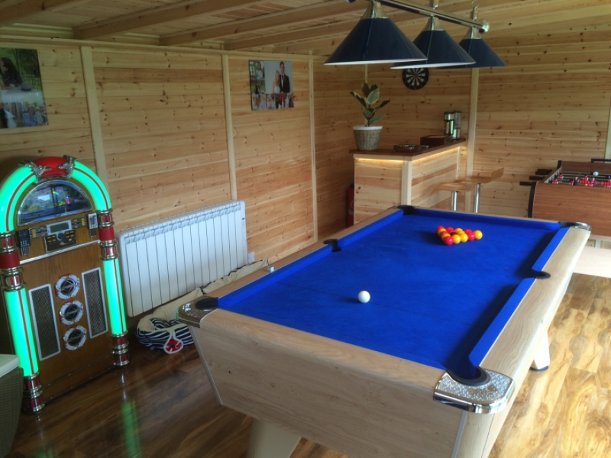 games room shed