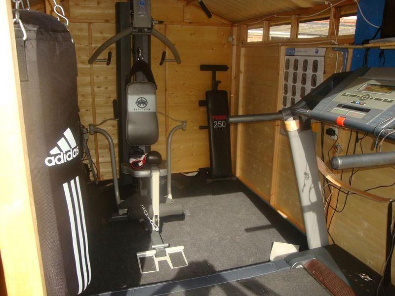 gym shed