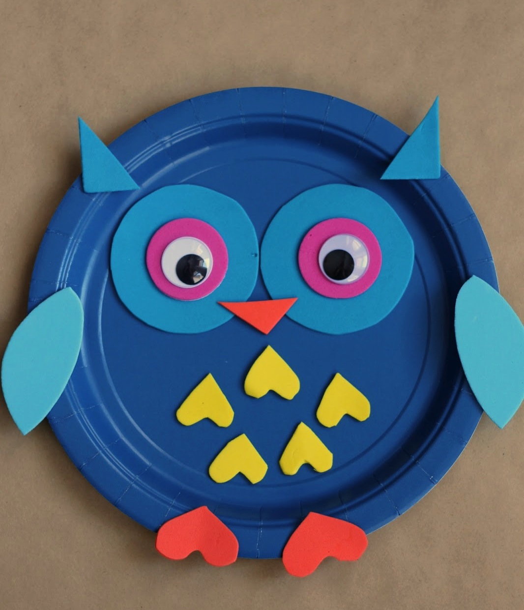 paper plate owl & 15 Fun Paper Plate Animal Crafts For Children - Reliable Remodeler