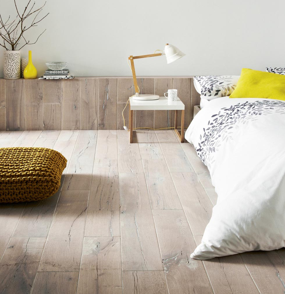 scandinavian wooden flooring