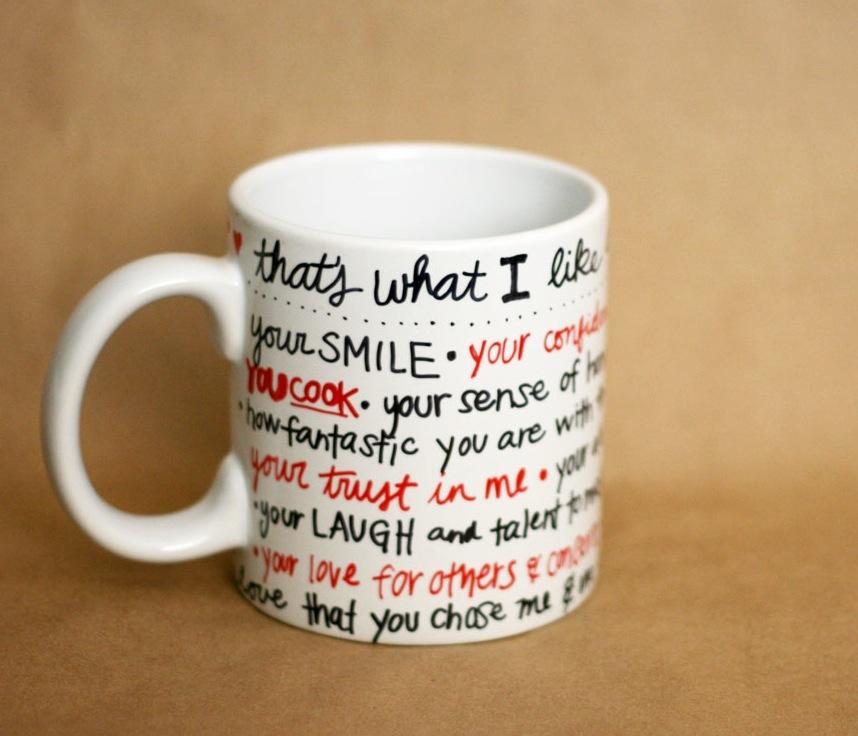 sharpie mug valentine
