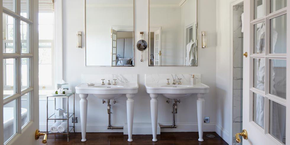 All White Bathrooms