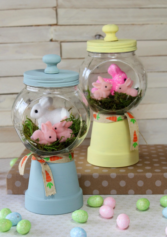 Bunny Gumball Machines
