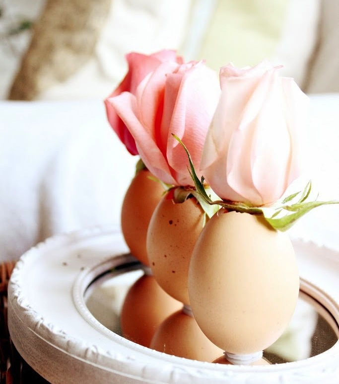 Egg Flower Vases