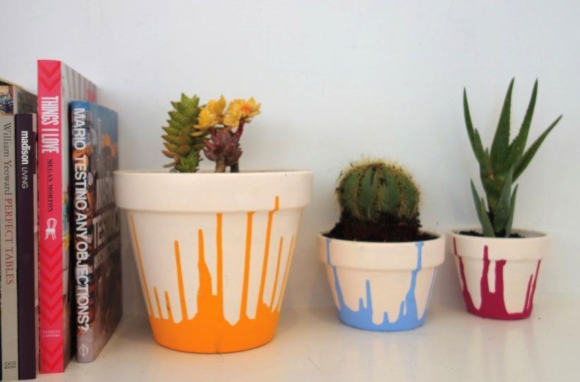 Paint drip pots