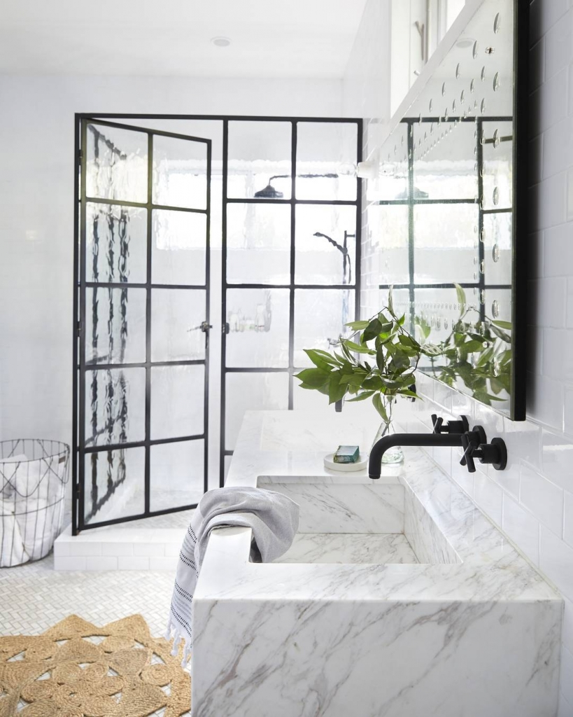 Showers With French Doors