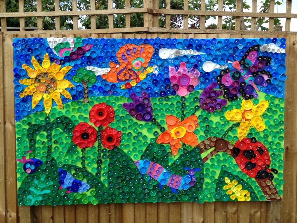 Bottle top art