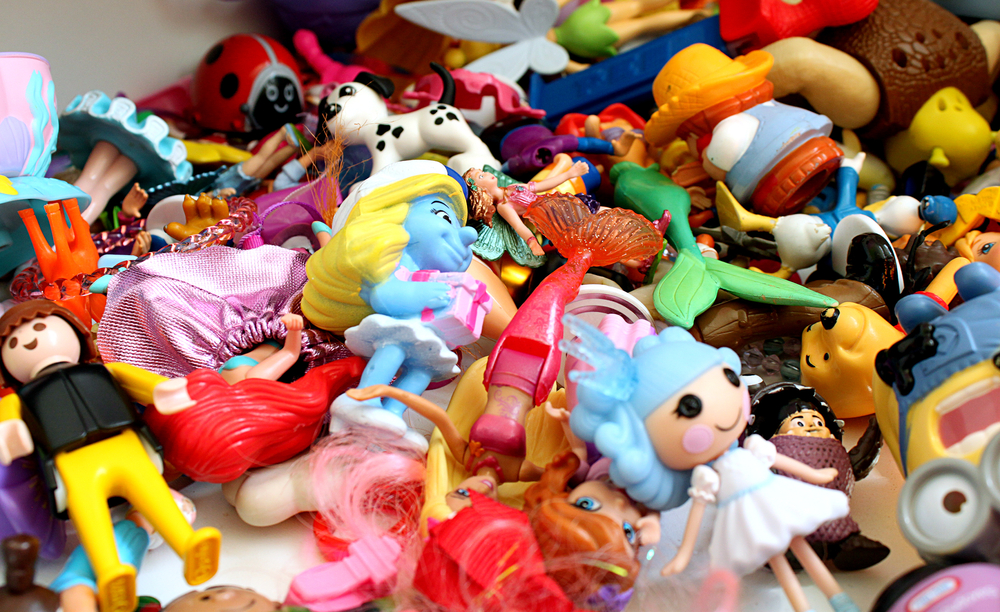 2. Streamline your child's toy collection