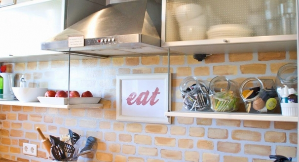 Easy Kitchen Storage Solutions Using Your Backsplash