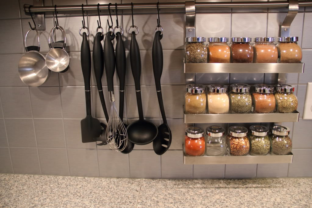 Kitchen Utensil Rail