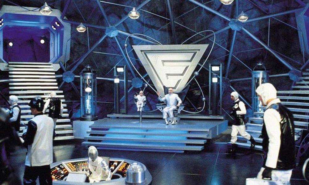 #4 Dr Evil's Lair, Austin Powers