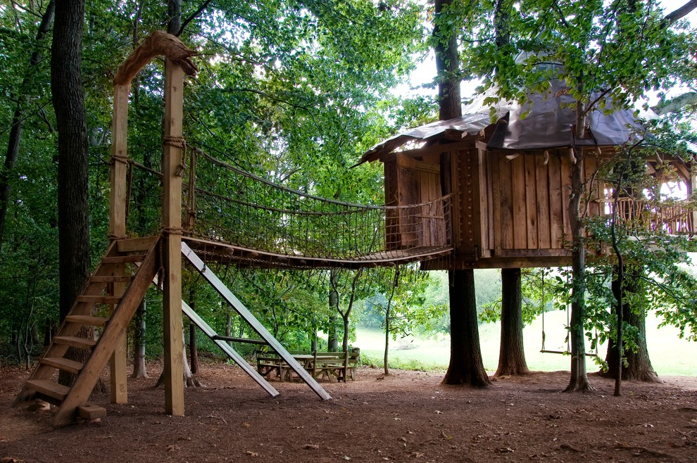 #4 Swing Set Tree House