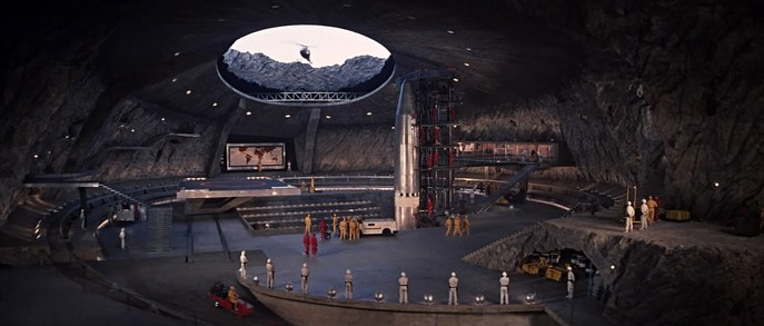 #7 Blofeld's Volcano Lair, James Bond