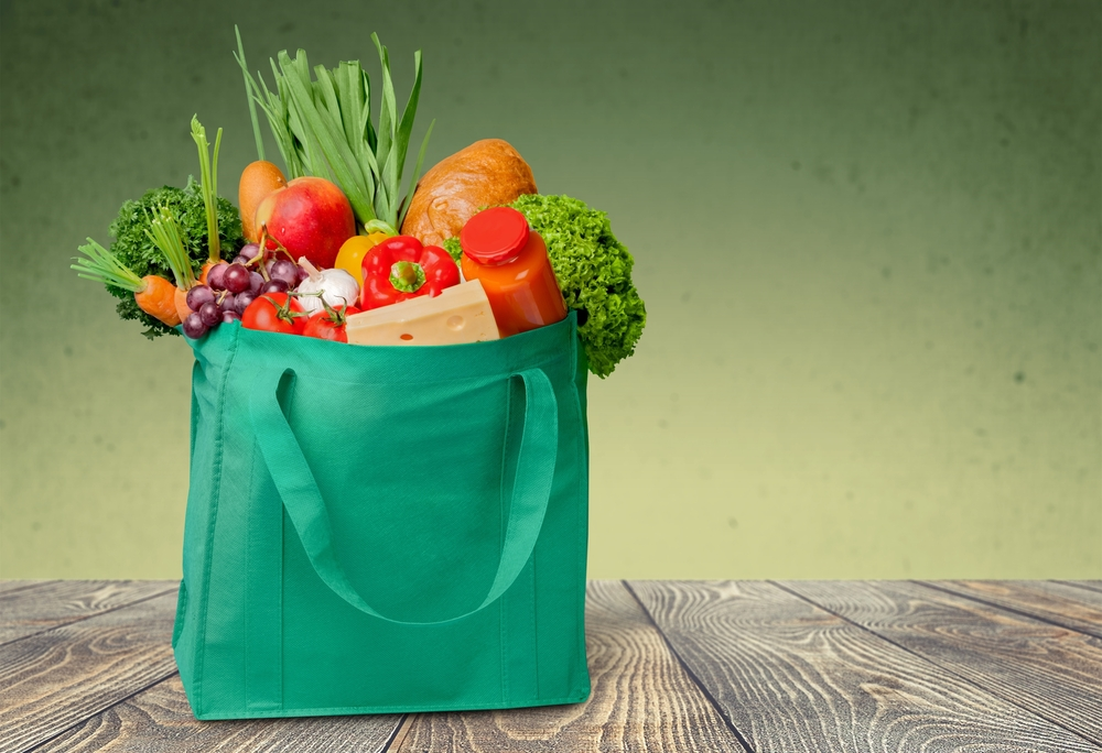 #8 Get a reusable grocery bag