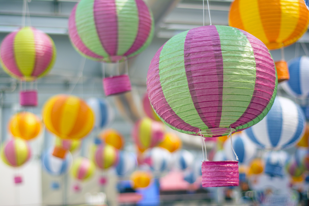 #2 Paper Lantern Hot Air Balloon
