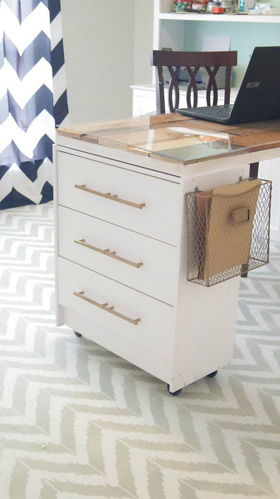 13. Rast Three-Drawer Chest