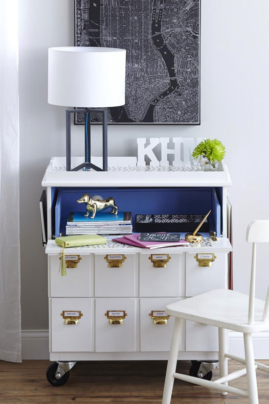 7. Tarva Three-Drawer Chest