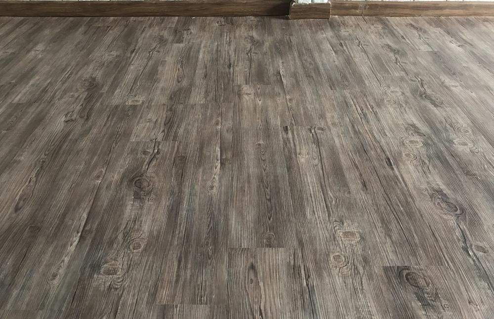 vinyl plank flooring room