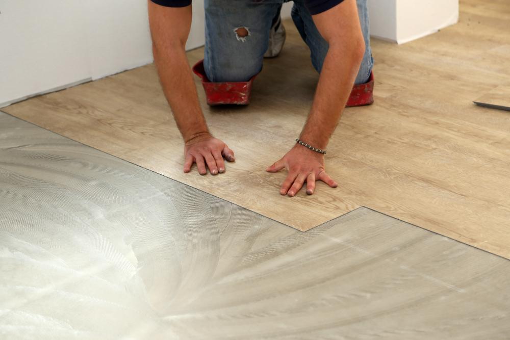 vinyl plank glue down
