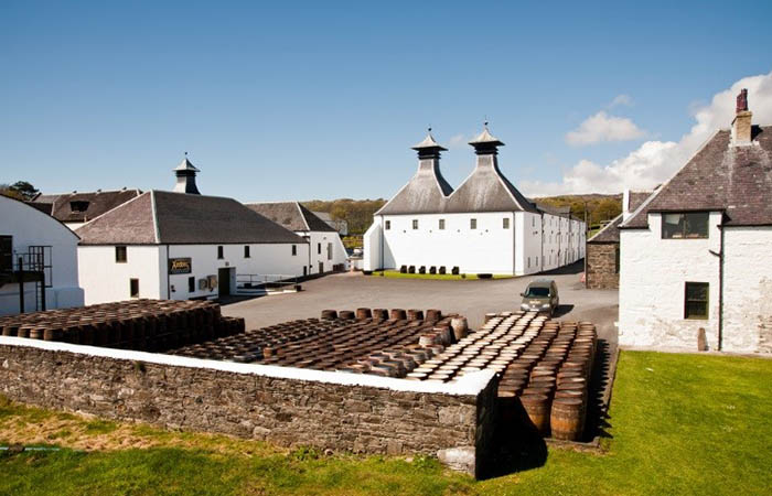 Whiskey tour of Islay