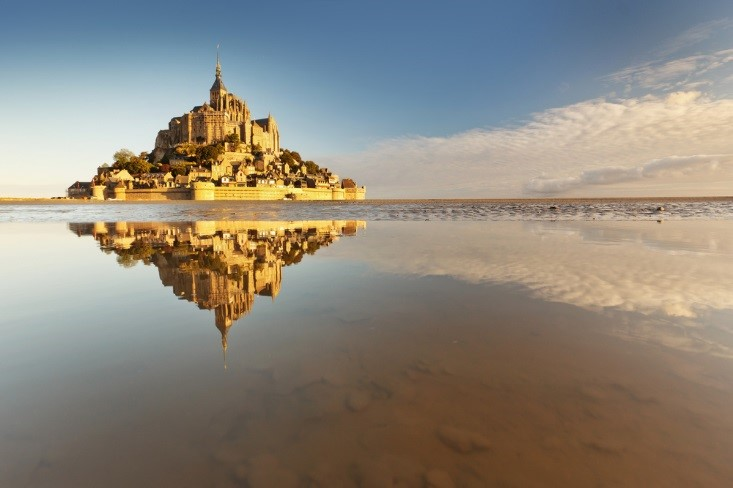 island of mont st michel
