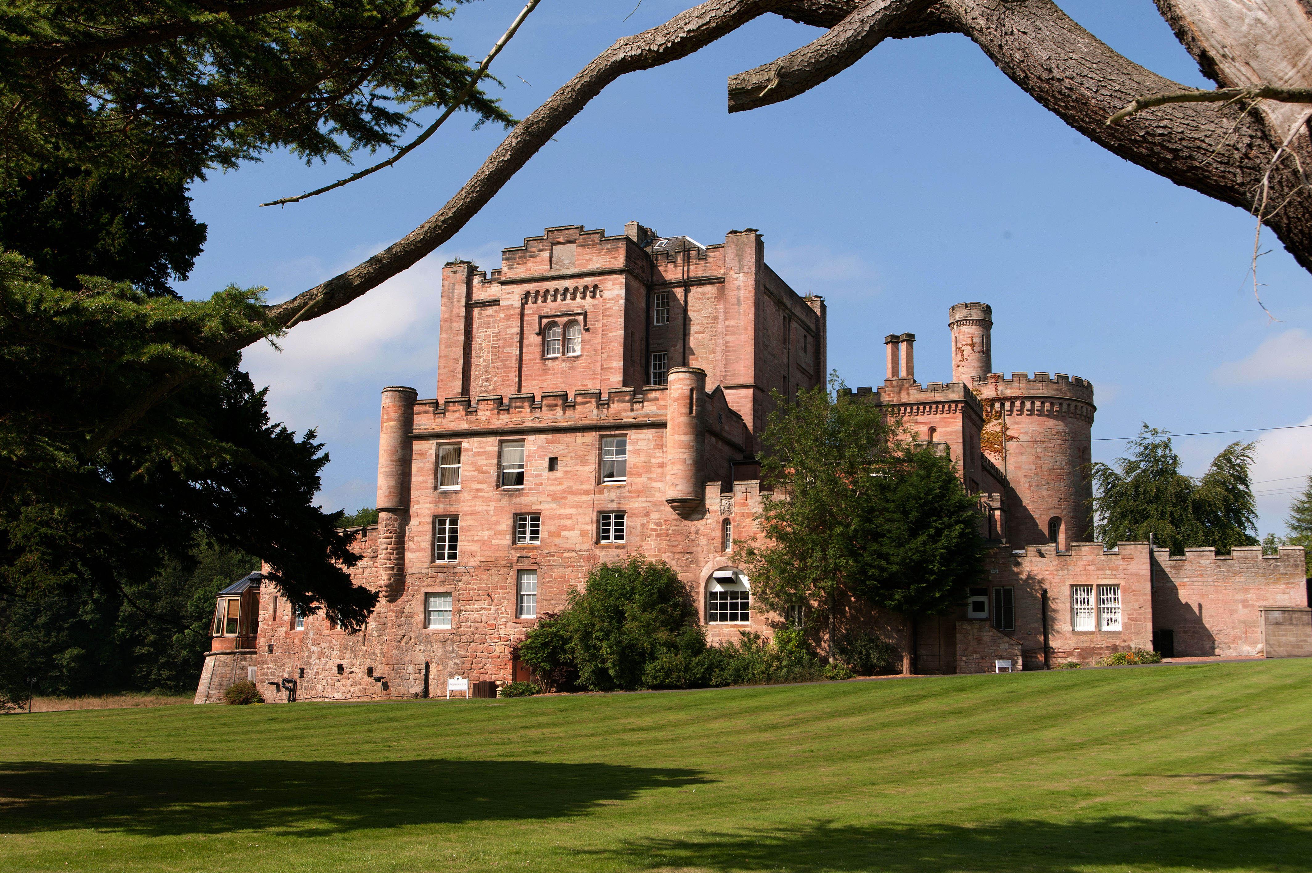 Dalhousie Castle Hotel, Midlothian, Scotland