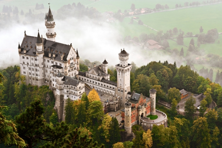 Neuschwanstein Castle, Hohenschwangau, Germany