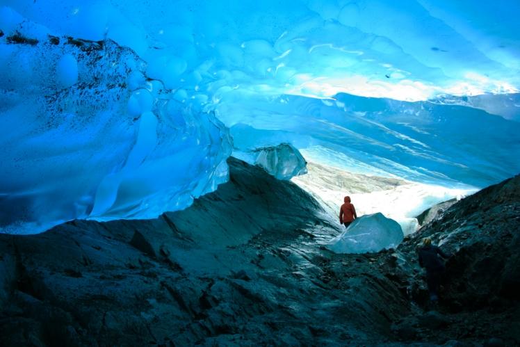 Mendenhall Glacier Caves, Alaska