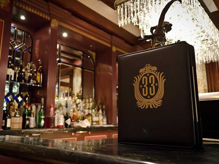 Club 33 at Disneyland, California, USA